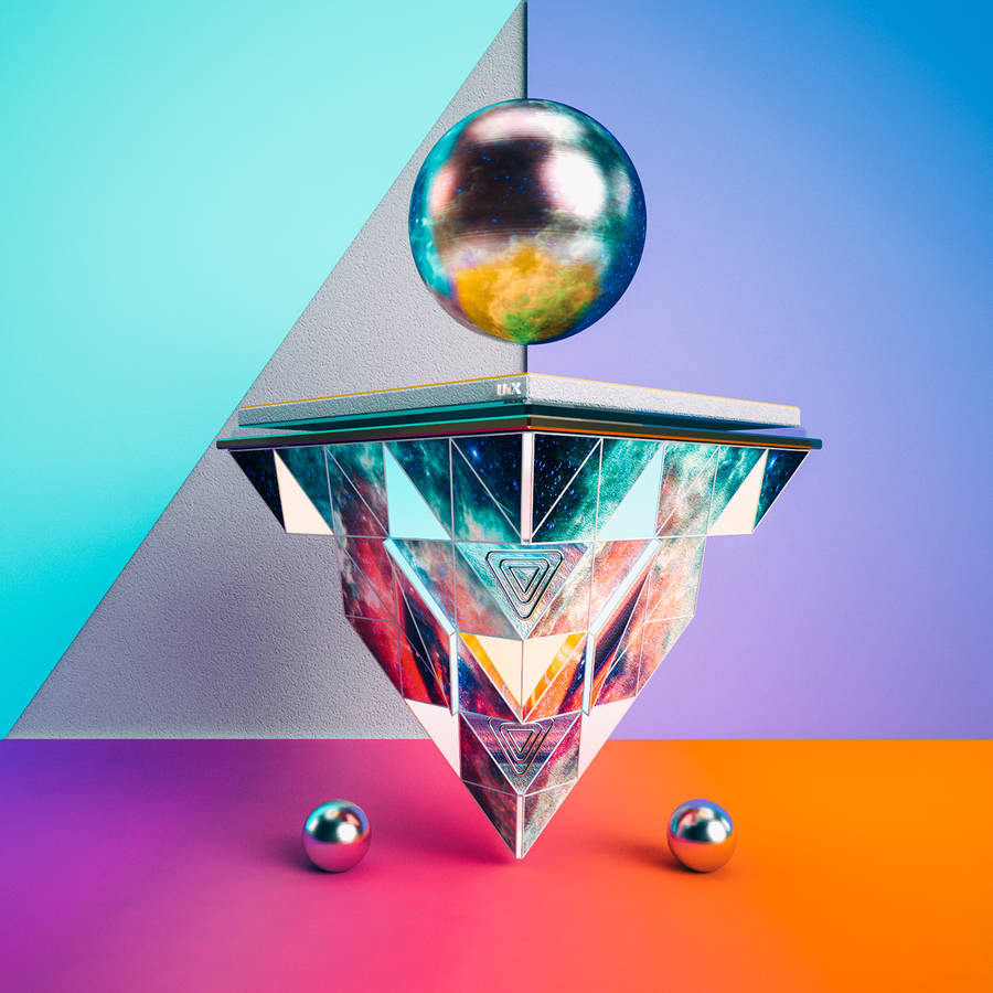 aesthetic-colorful-geometric-3d-structures-4-900x900