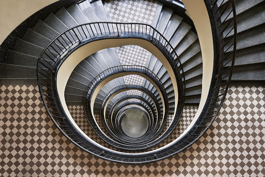 spiral-and-geometric-staircases-shot-from-above-4