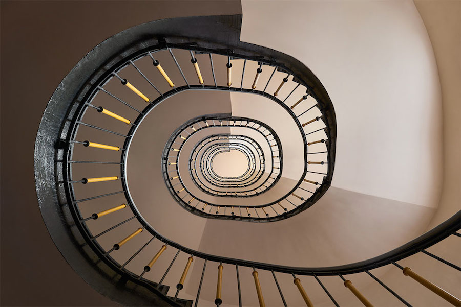 spiral-and-geometric-staircases-shot-from-above-8
